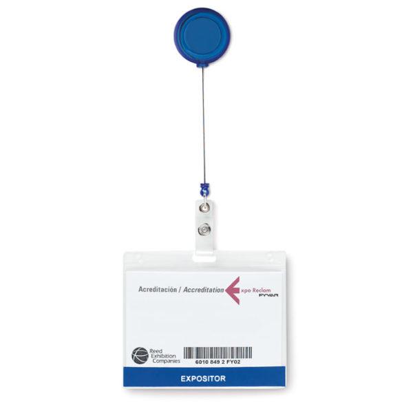 Badge holder, Πλαστικές Θήκες Συνεδρίου, Κάρτα Badge με εκτύπωση,