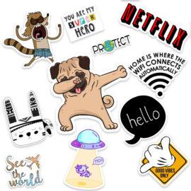 Stickers, Stickers για παιδικα δωματια, Αυτοκόλλητα για τζάμια, για κουτια
