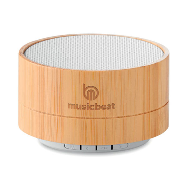 Bamboo Ηχείο Bluetooth, Ηχεια bluetoothγια δωρο με εκτυπωση το ονομα,