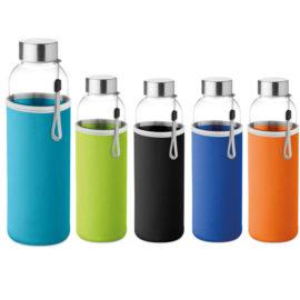 Μπουκάλι με Επένδυση Υφάσματος, εκτύπωση γυαλινα μπουκαλια νερου