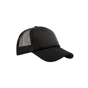 Καπέλο με δίχτυ Μαύρο, Καπέλα trucker, καπέλα εκτύπωση, καπέλα
