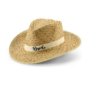 Καπέλο ψάθινο, καπέλο για την Νυφη, καπέλα για φιλες Νυφης εκτυπωση